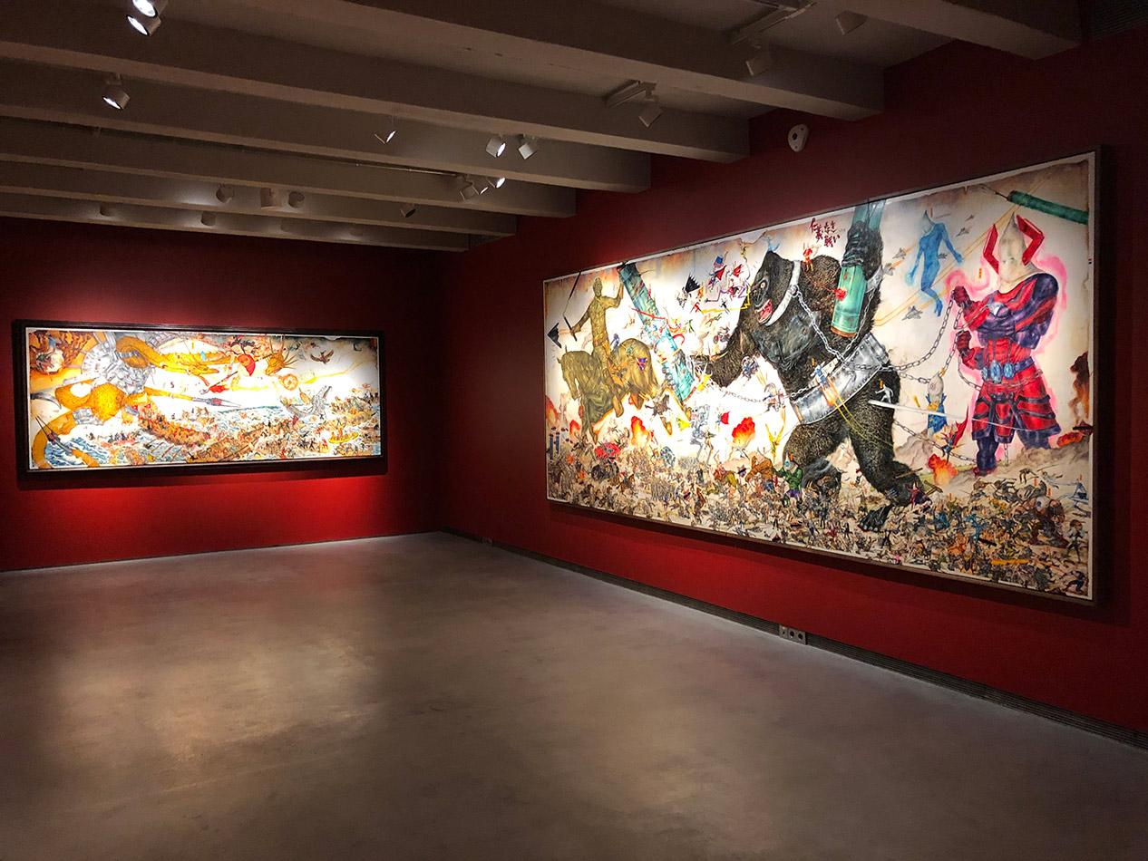 Vistas de la instalación Colección SOLO, Madrid, 2019